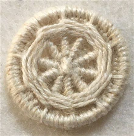 Dorset Button Kit - Yarrell Design, Natural (plant fibre)